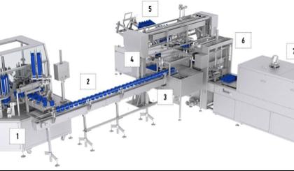 Linea automatica per la produzione di copricapi sanitari monouso.  Modello MB NC19;